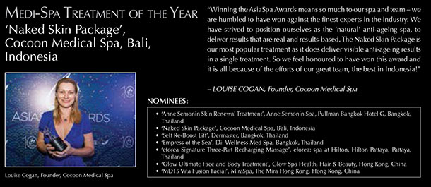 Medi-Spa Treatment of the Year (ASIASPA AWARDS)