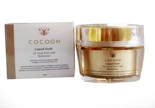 COCOON'S 24 CARAT GOLD LEAF MOISTURISER